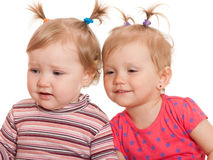 Little gossipers Royalty Free Stock Image