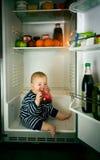 Little gourmand Stock Image