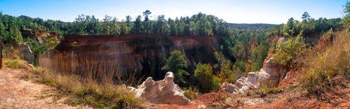 Little Grand Canyon in Lumpkin stock photos