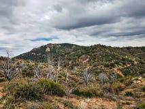 Little Granite Mountain Trail   37 Granite  Mountain Wilderness  and Recreational Area Stock Photo