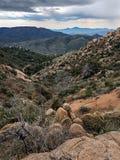 Little Granite Mountain Trail   37 Granite  Mountain Wilderness  and Recreational Area Stock Image