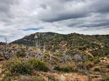 Little Granite Mountain Trail   37 Granite  Mountain Wilderness  and Recreational Area Stock Images