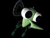 Little green alien Royalty Free Stock Photos