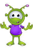 Little Green Alien Stock Photography