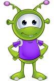 Little Green Alien Stock Photos