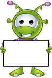 Little Green Alien Royalty Free Stock Photography