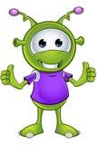 Little Green Alien Royalty Free Stock Photo