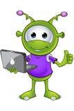 Little Green Alien Stock Images