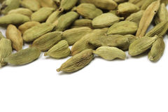 A little green cardamom seeds Royalty Free Stock Photos