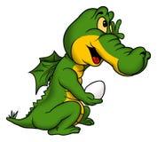 Little green dragon Stock Photography