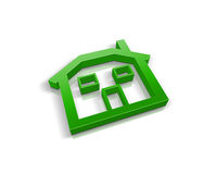 Little green house Royalty Free Stock Photography
