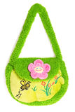 The little green purse Royalty Free Stock Images