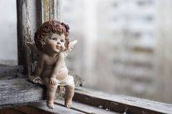 Little guardian angel. Royalty Free Stock Images