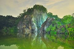 Little Guilin by night Stock Photography