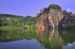 Little Guilin, Singapore Royalty Free Stock Photography