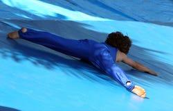 Little gymnast Stock Image