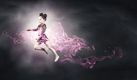 Little gymnast Stock Photography