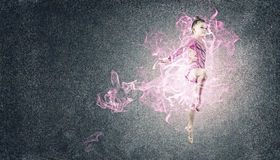Little gymnast Royalty Free Stock Images