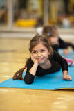 Little gymnast Royalty Free Stock Photography