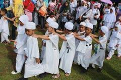 Little hajj - Line up Royalty Free Stock Photos