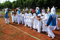 Little hajj - Line up Stock Photo