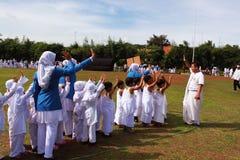 Little hajj - raise your hands Stock Images