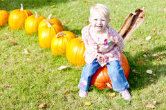 Little at Halloween Royalty Free Stock Photo