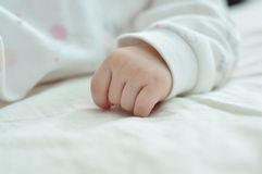 Little hand of newborn Royalty Free Stock Photo