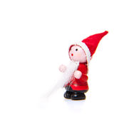 Little handmade Santa Clause Royalty Free Stock Photography