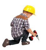 Little handyman Royalty Free Stock Photography