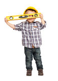 Little handyman Stock Photo