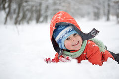 Little happy boy Stock Photography