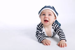 Little happy boy Royalty Free Stock Photography