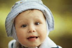Little happy boy portrait Royalty Free Stock Photography