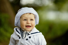 Little happy boy portrait Royalty Free Stock Photography