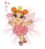 Little happy fairy Royalty Free Stock Photo