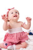 Little happy girl Royalty Free Stock Images