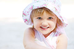 Little happy girl Royalty Free Stock Photography