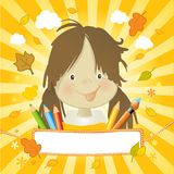 Little happy kid Royalty Free Stock Photography