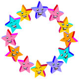 Little Happy Stars Royalty Free Stock Photography
