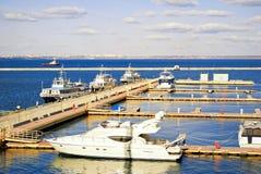 Little harbor. Stock Image