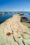 Little harbor in brittany Royalty Free Stock Photos