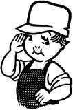 Little Hardware Boy Stock Images