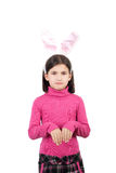 Little hare girl Royalty Free Stock Photos