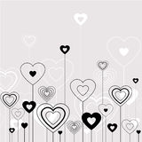 Little hearts Stock Images