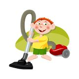 Little helper Stock Images