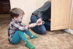 Little helper Stock Photography