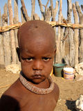 Little Himba boy Stock Photos
