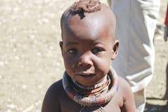 Little himba boy Stock Photo