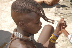 Little himba boy Royalty Free Stock Photos